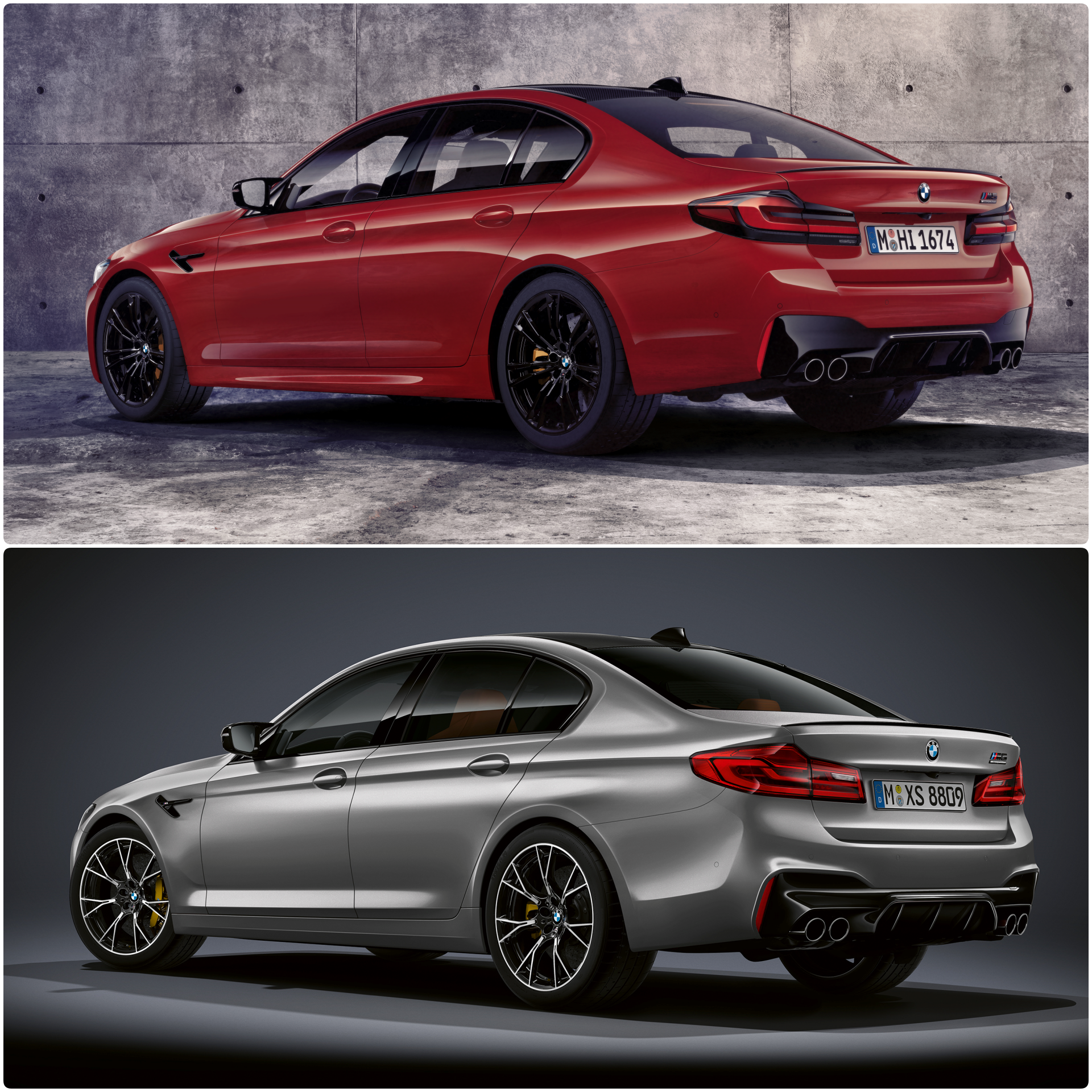 Comparison New M5 Competition Vs Pre Lci F90 M5 Competition