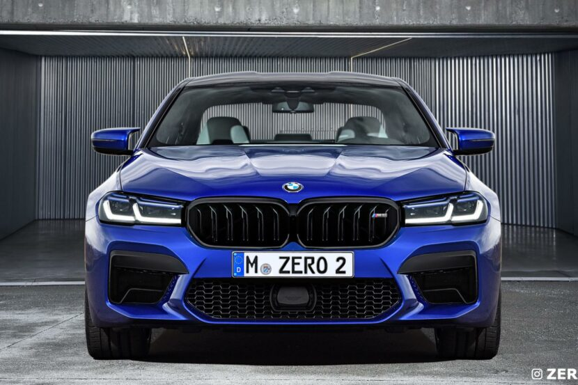 BMW M5 Facelift rendering 00 830x553