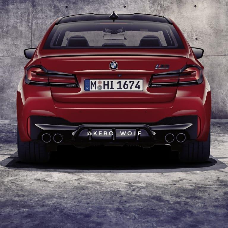 BMW M5 leak 1