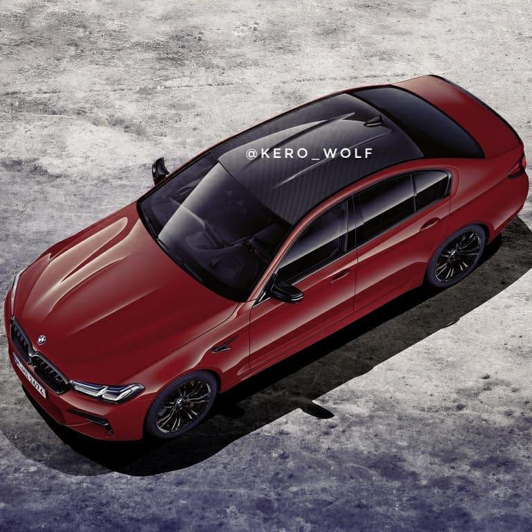 BMW M5 leak 3