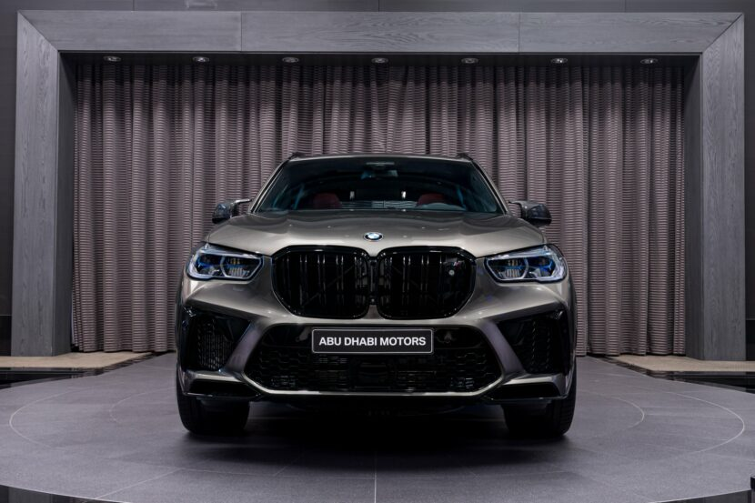 BMW X5 M Competition F95 in Manhattan Grey 1 1 830x553