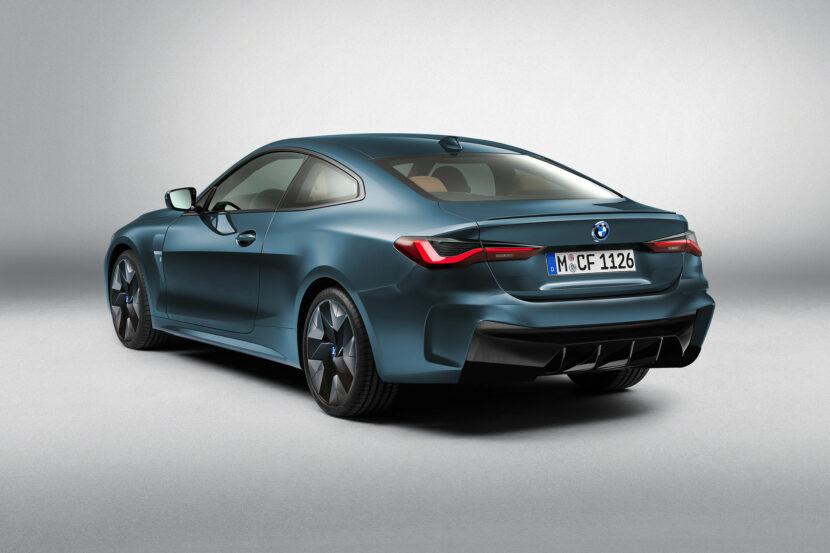 BMW i4 Coupe Render BMW i440 2 830x553