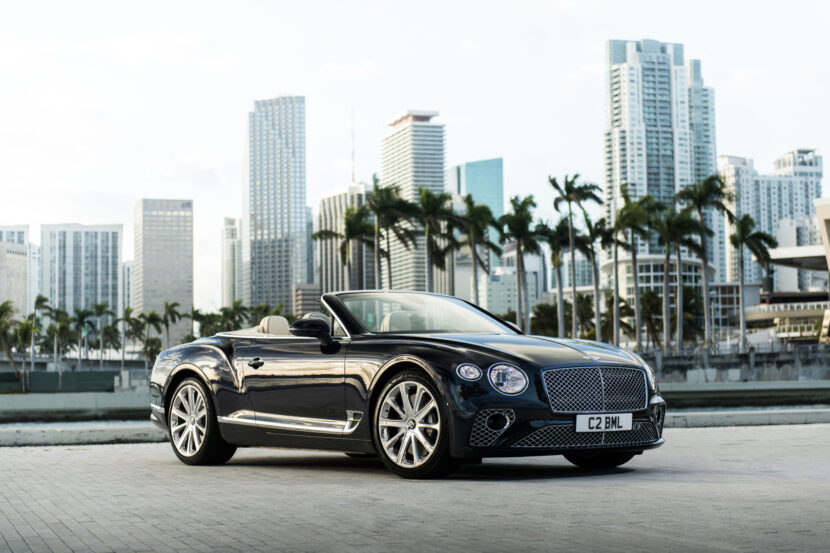 Bentley Continental GT Convertible 1 830x553