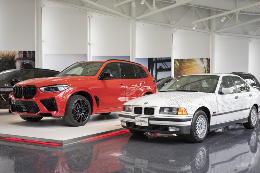 First and 5 Millionth BMW built in the US 830x553