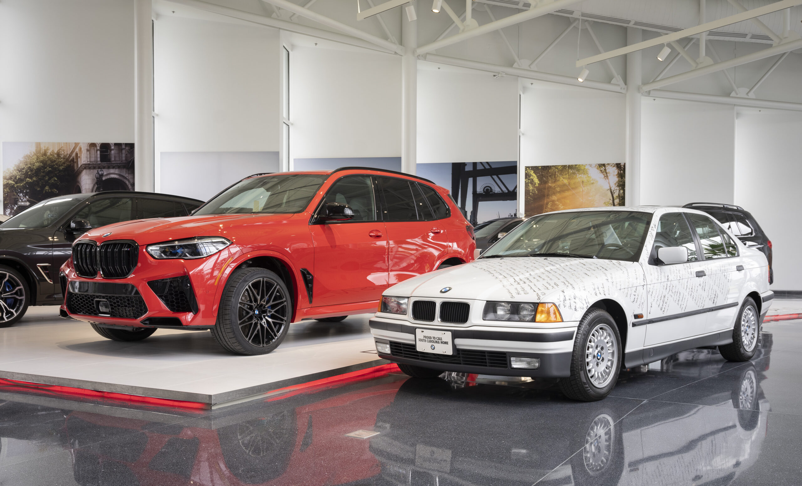First and 5 Millionth BMW built in the US scaled