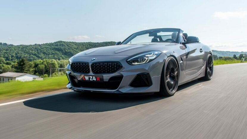 Lightweight Performance BMW Z4 R 830x467