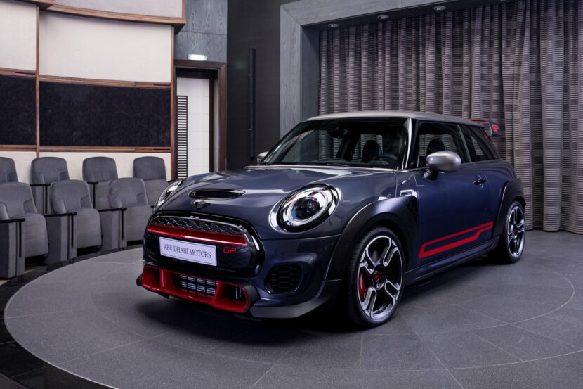 MINI John Cooper Works GP at Abu Dhabi Motors 2 830x553