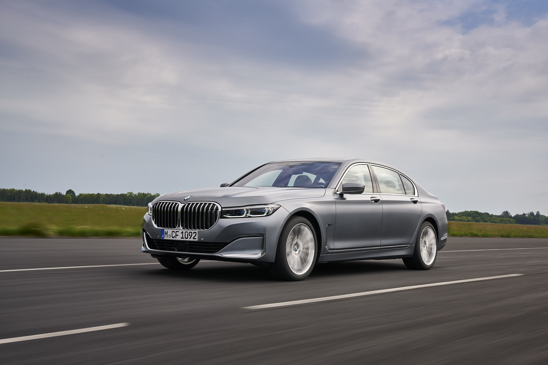 The New BMW 740Ld xDrive G12 LCI 2