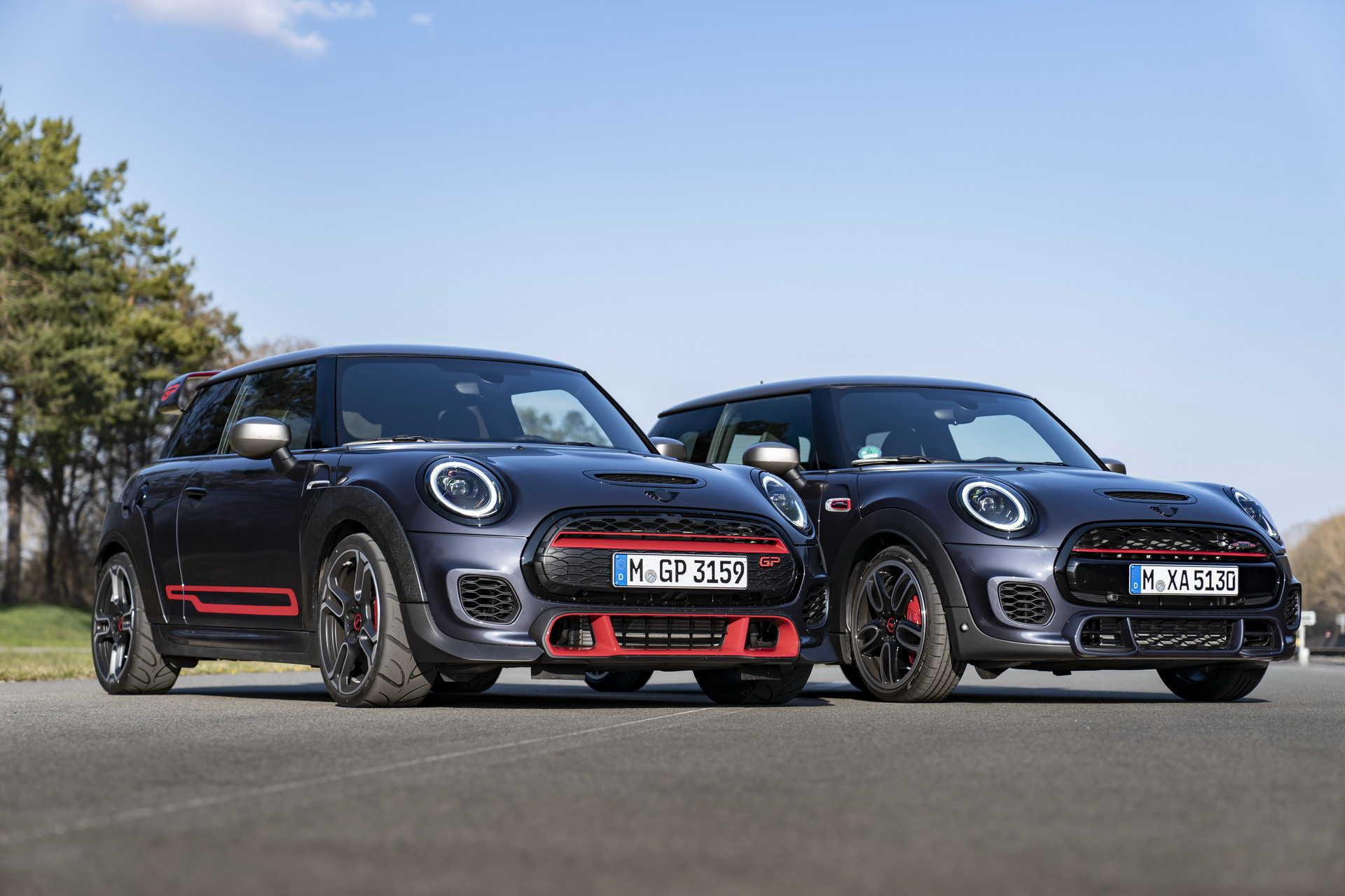 The new John Cooper Works GP Pack 8