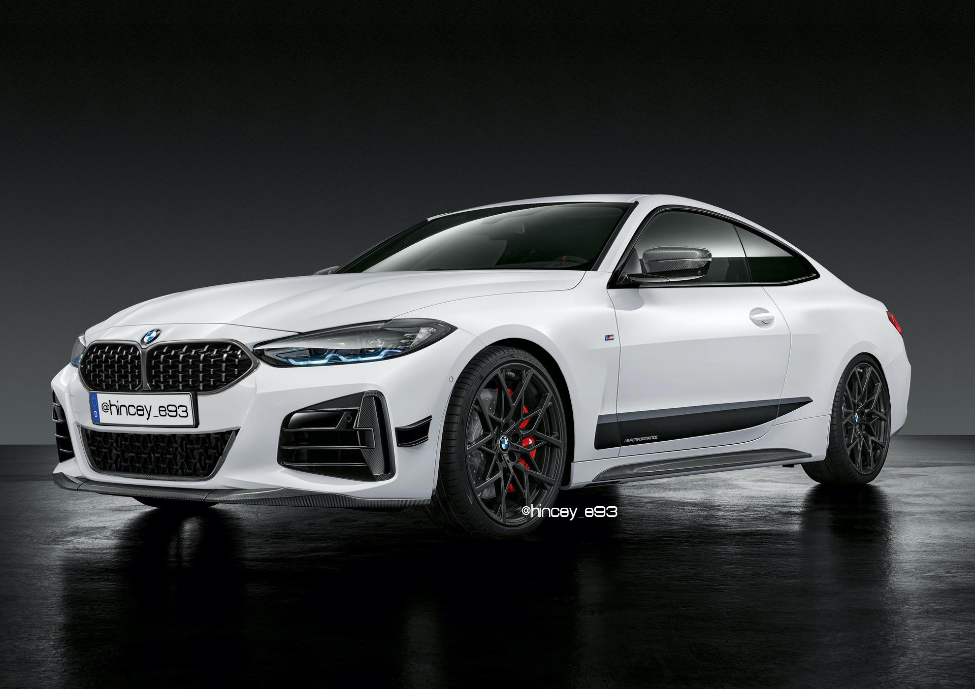 bmw 4 series G22 small grille