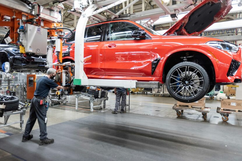 five millionth BMW built in the US 3 830x554
