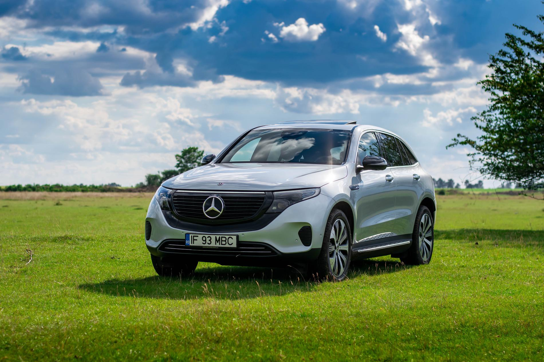mercedes eqc electric suv test drive 61