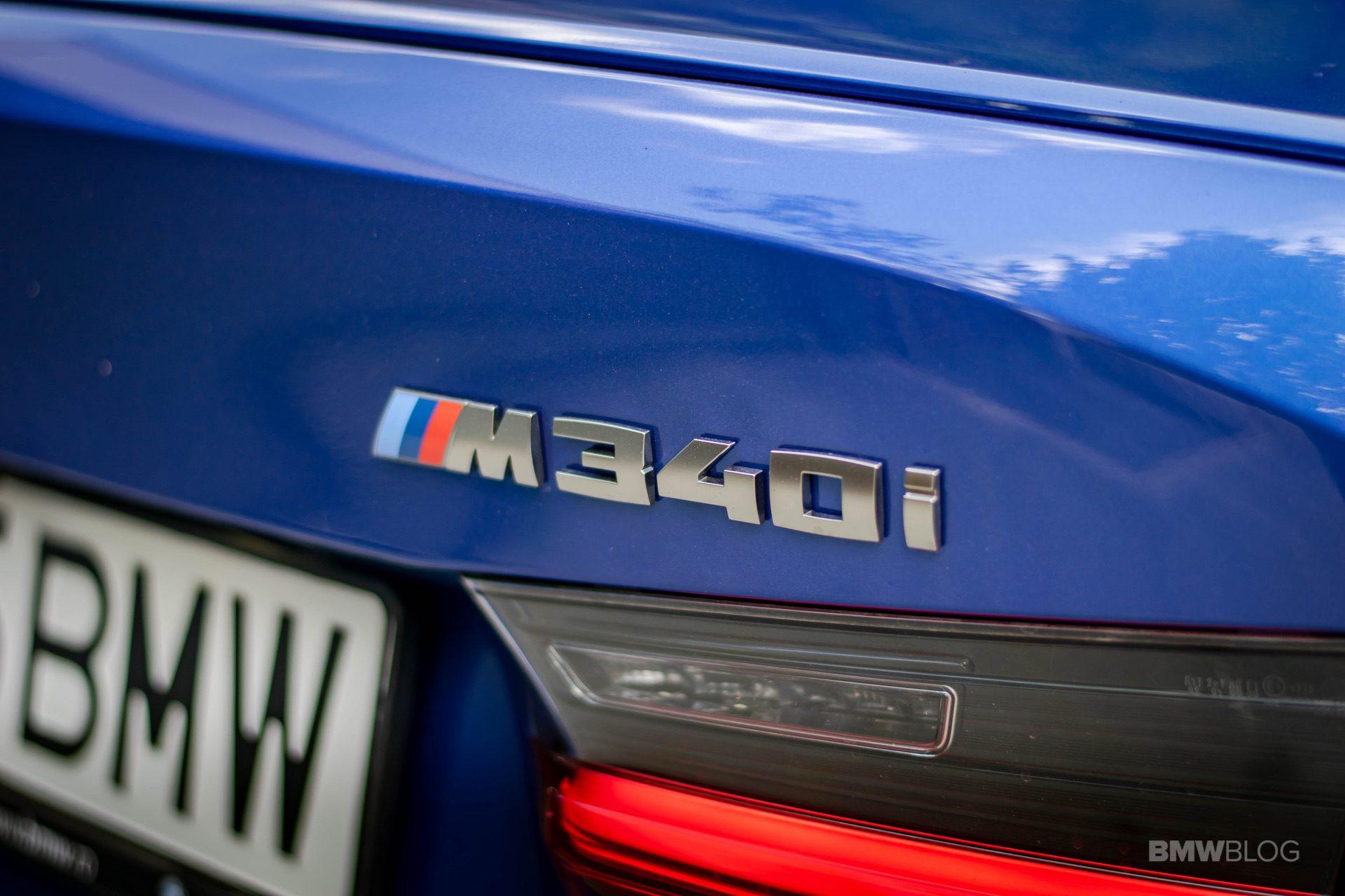 2020 BMW M340i sedan test drive 20