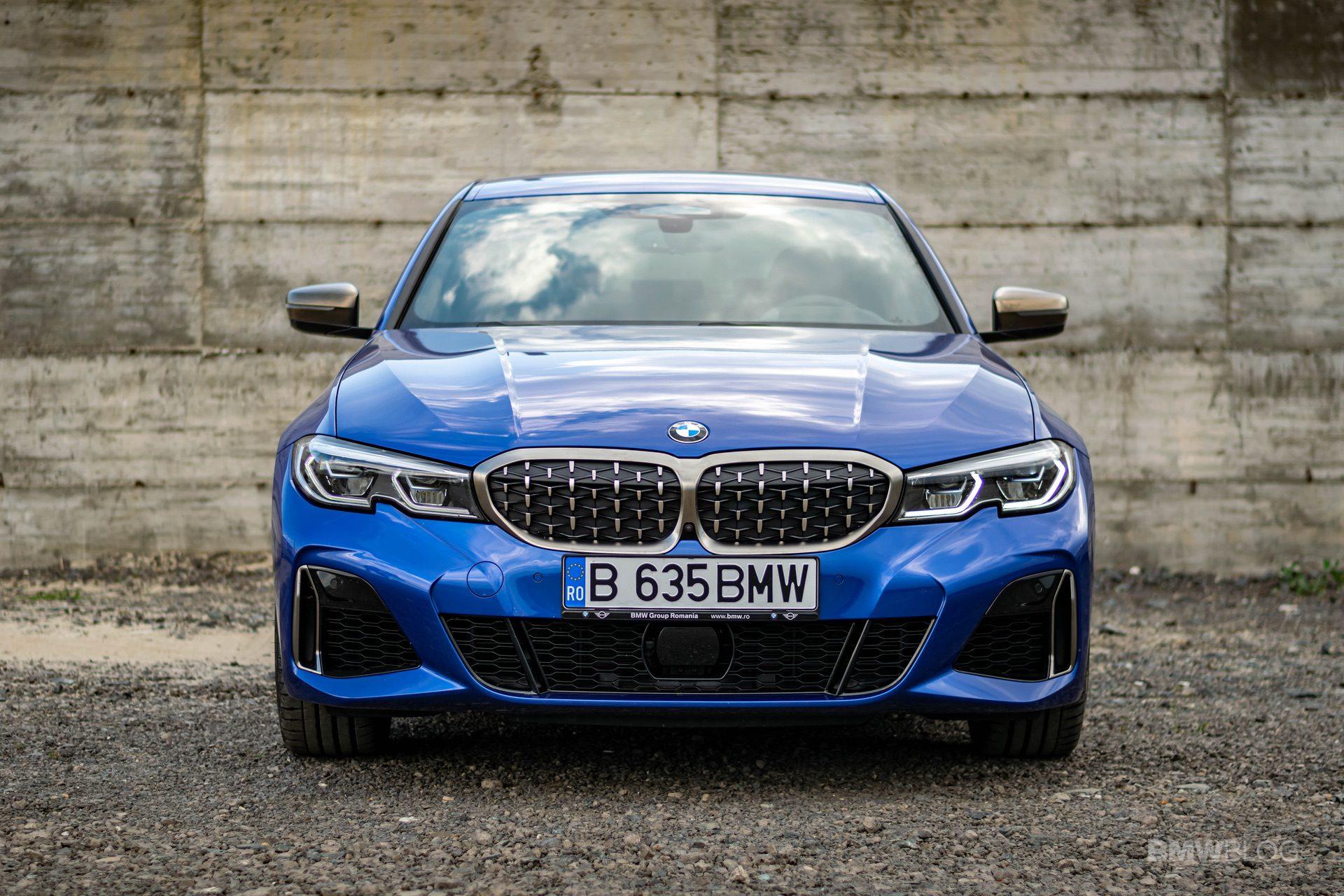 2020 BMW M340i sedan test drive 29