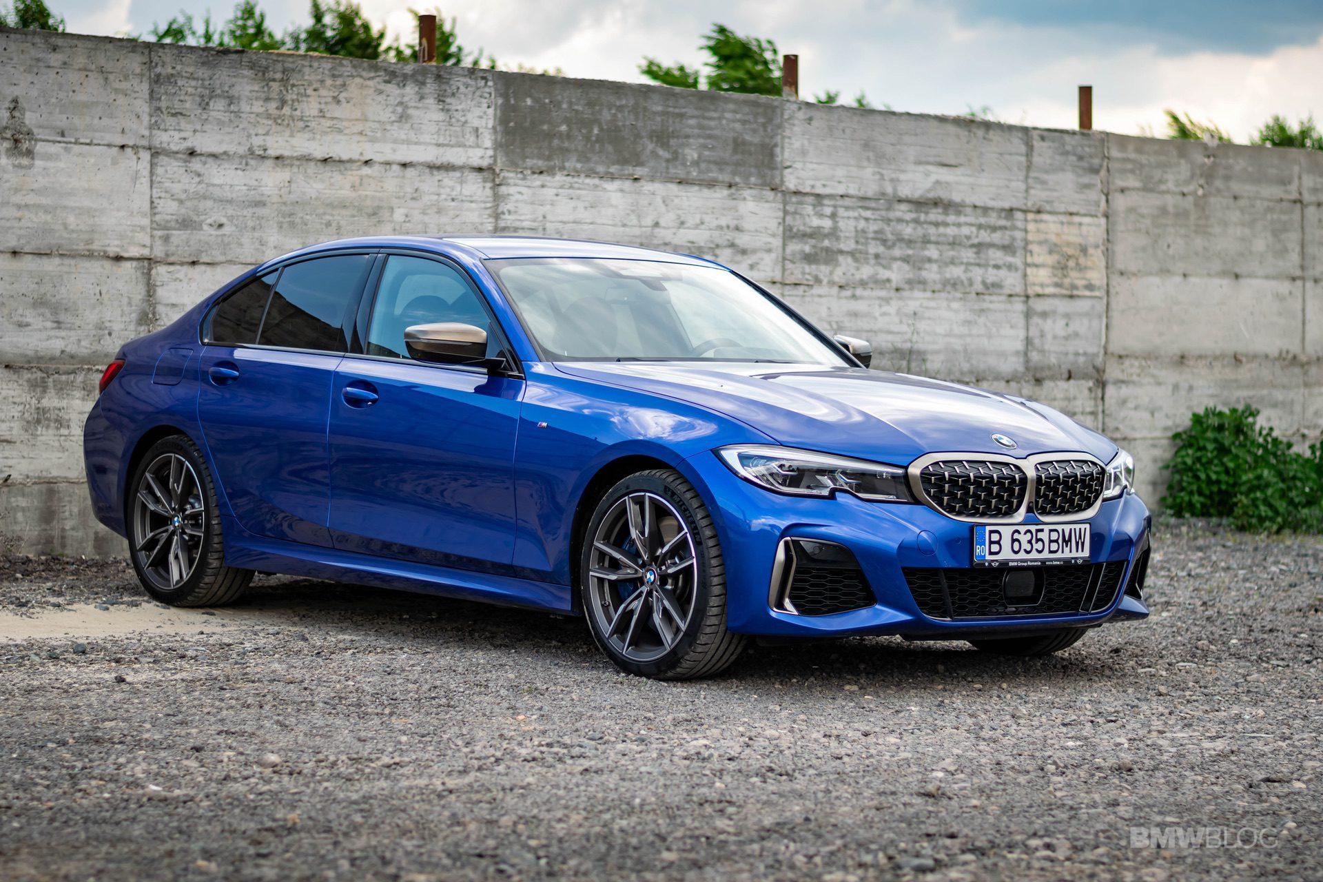 2020 BMW M340i sedan test drive 30