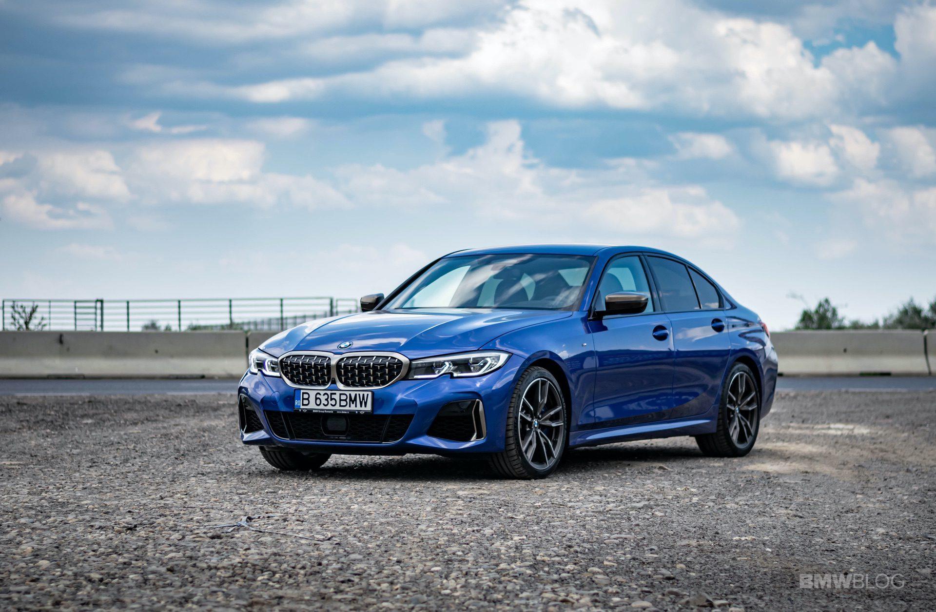 2020 BMW M340i sedan test drive 35