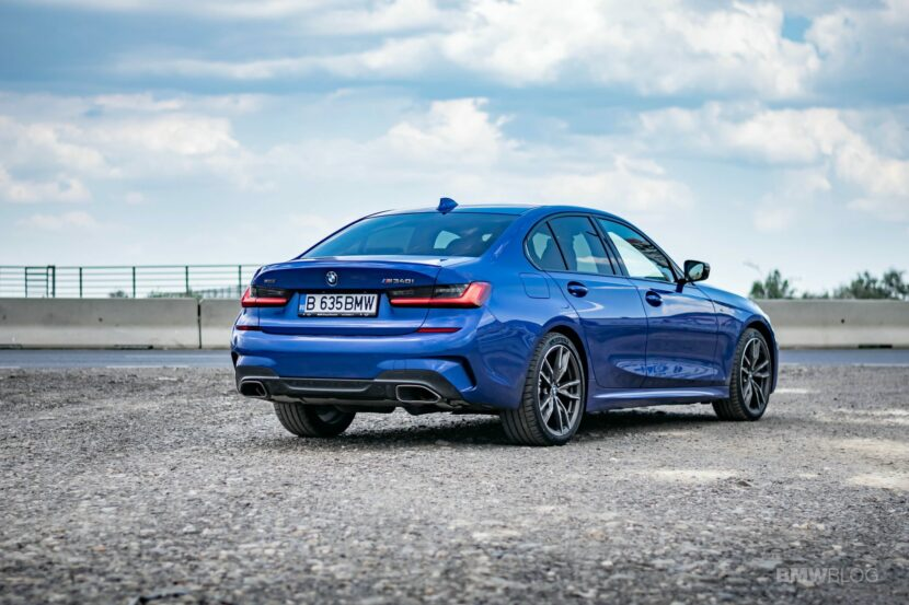 2020 BMW M340i sedan test drive 36 830x553