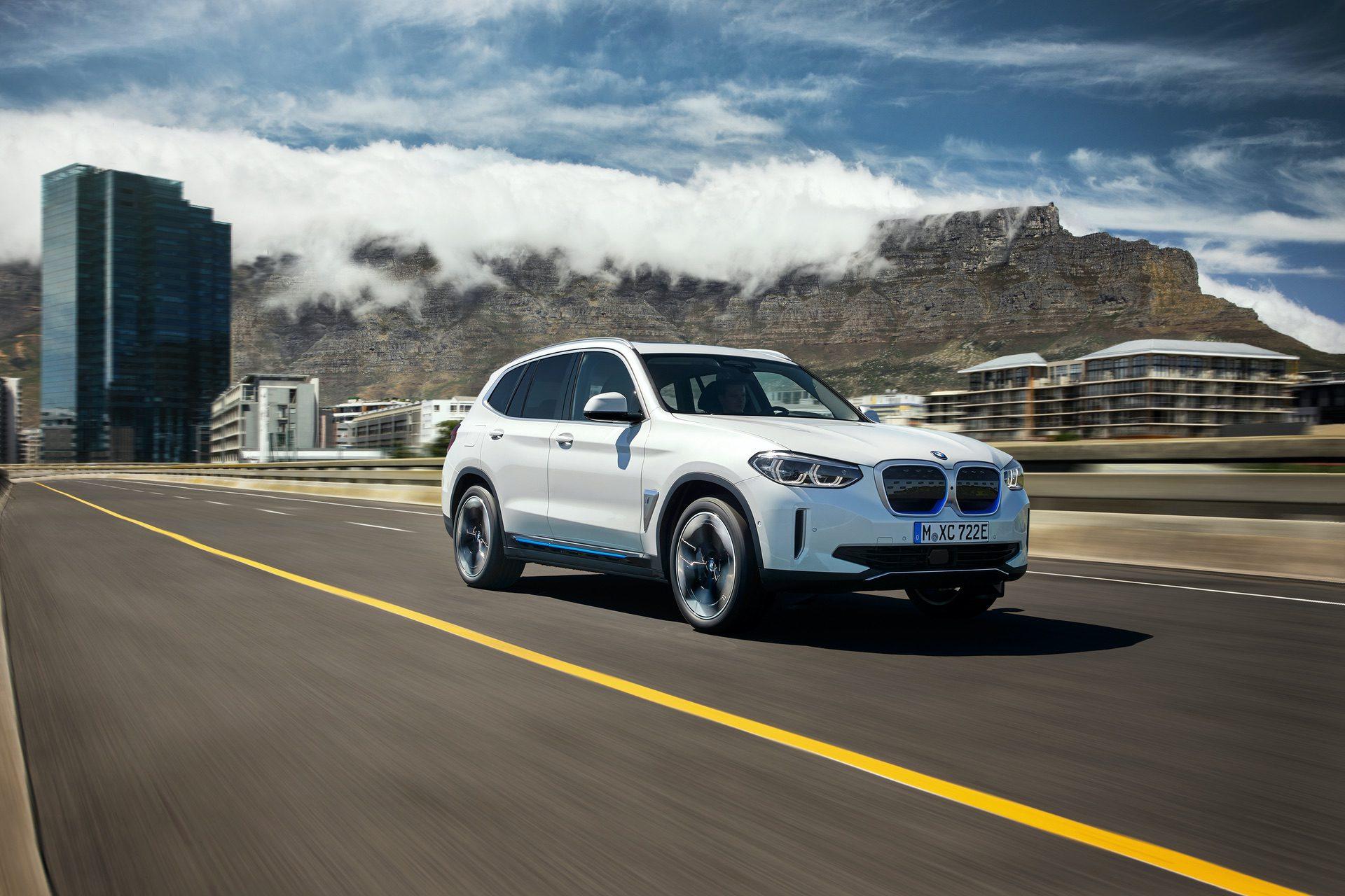 2020 BMW iX3 electric SUV 07