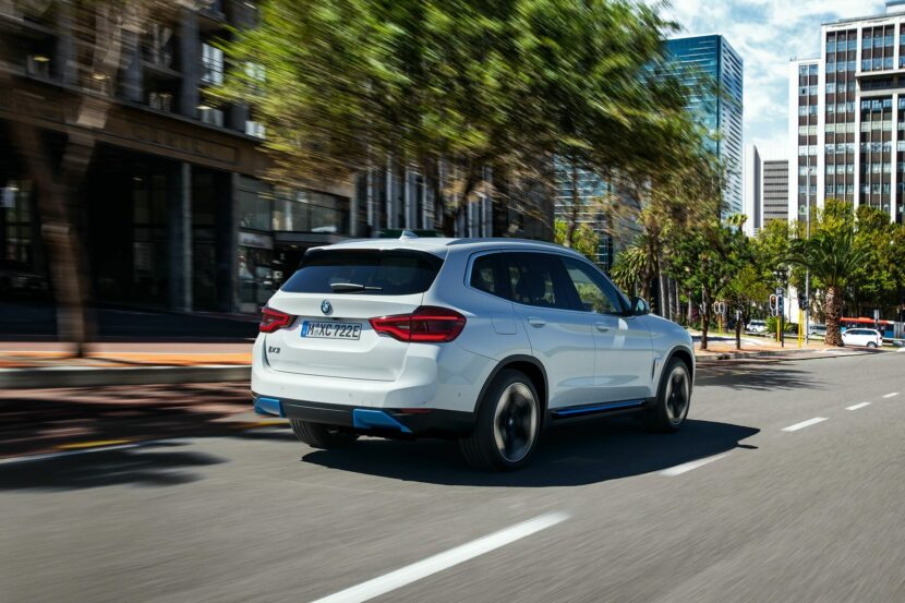 2020 BMW iX3 electric SUV 08 830x553