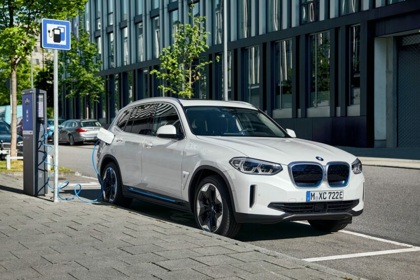 2020 BMW iX3 electric SUV 13 830x553