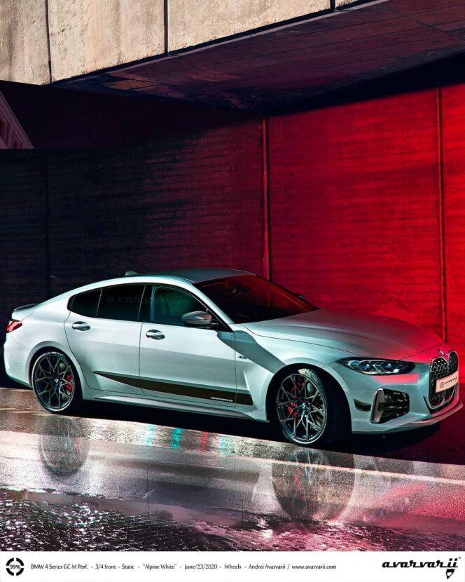 2021 BMW 4 Series Gran Coupe 664x830