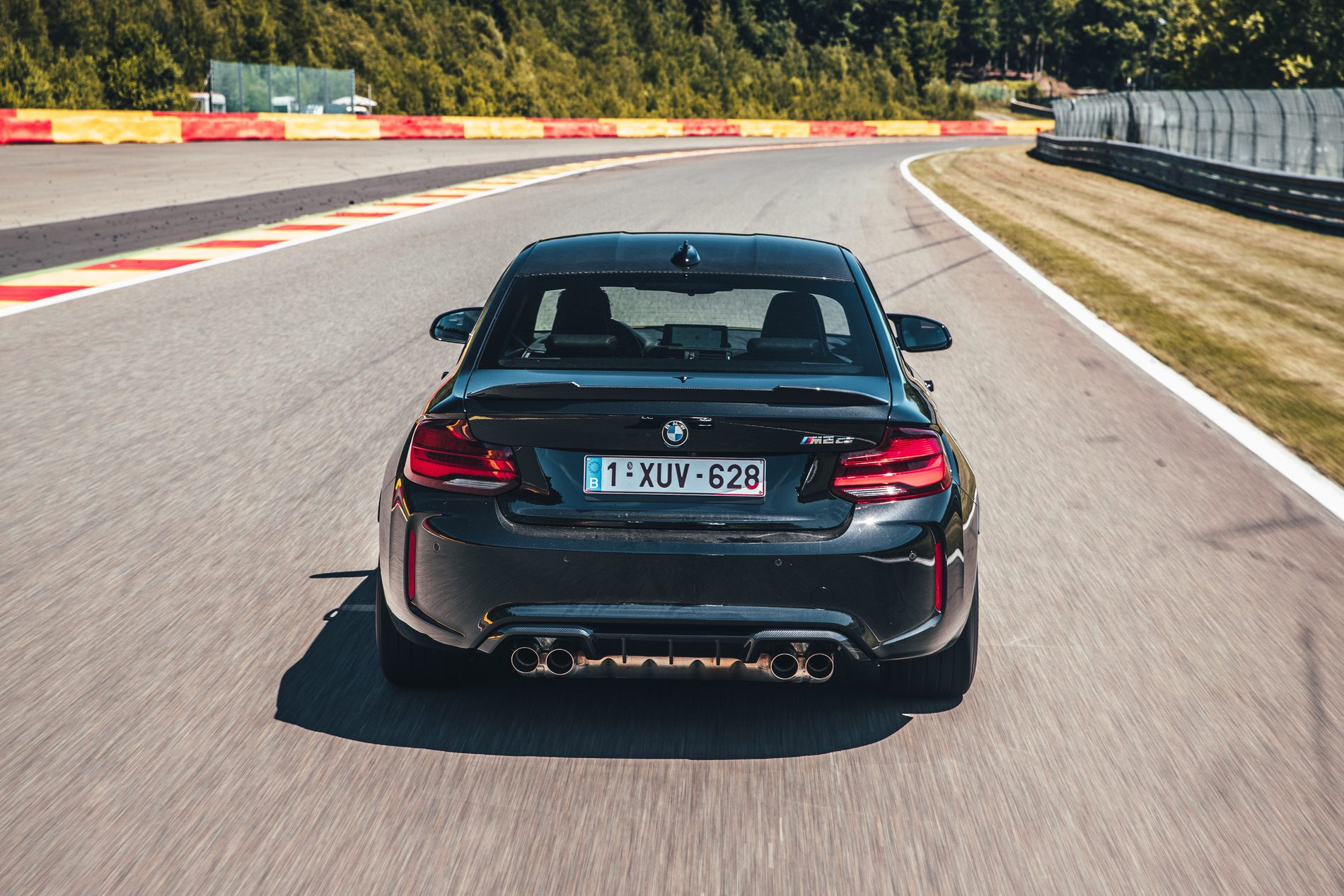 Bmw M2 Cs In Sapphire Black Goes To The Race Track