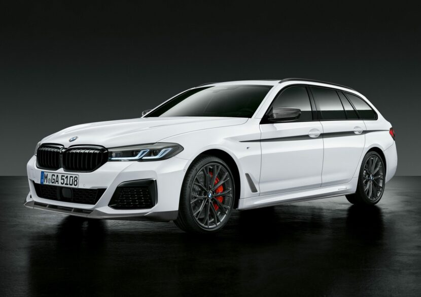 BMW 5 Series facelift M Performance Parts 19 830x587
