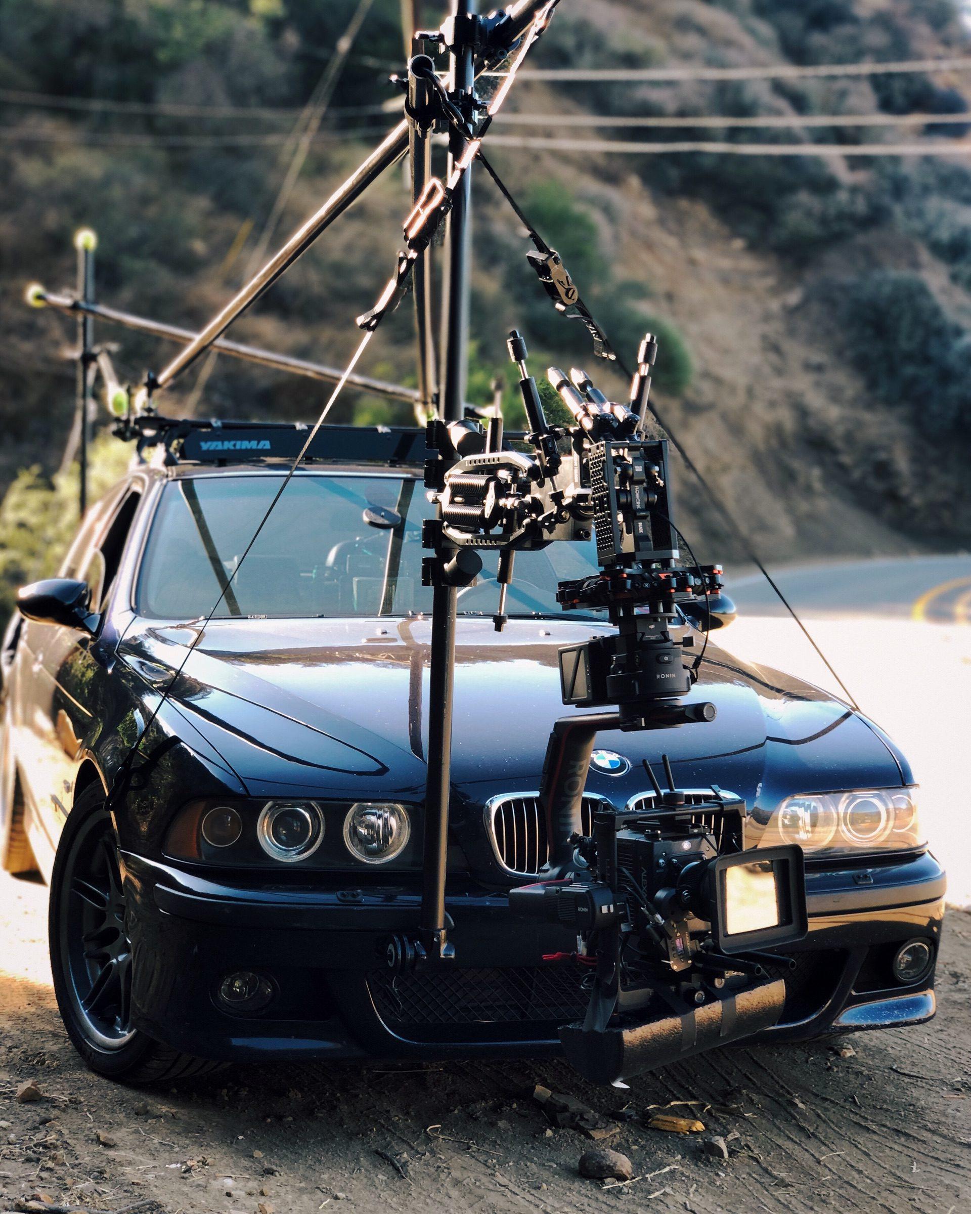 BMW E39 M5 car to car 00
