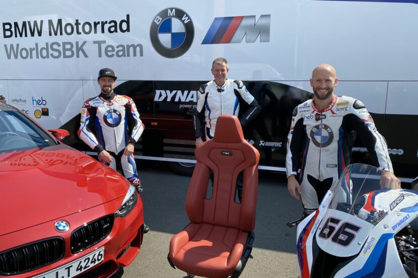 BMW M Seats for WorldSBK team 1 830x553