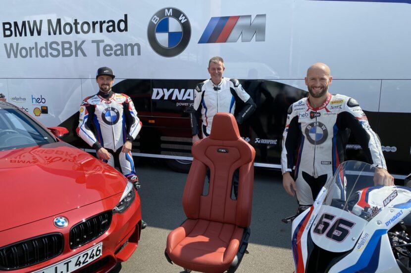 BMW M Seats for WorldSBK team 1 830x553