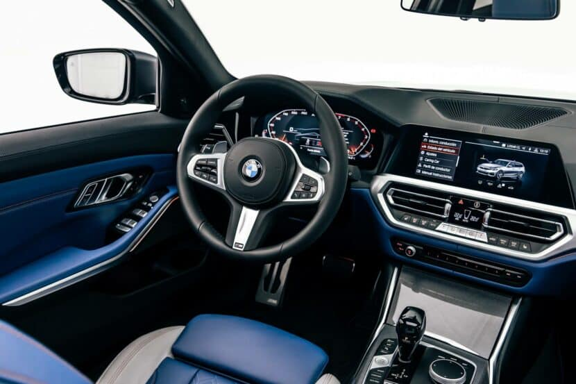 BMW M340i xDrive Touring First Edition Interior 08 830x553
