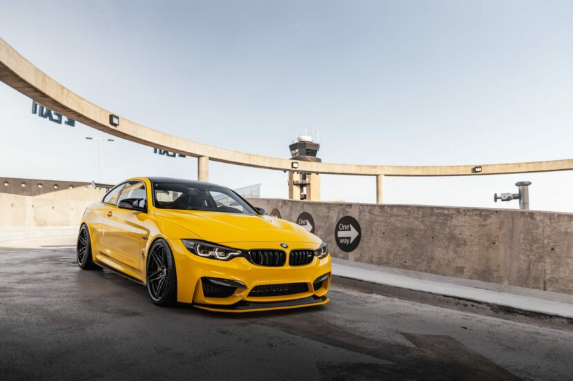 BMW M4 GTS yellow color 22 830x552
