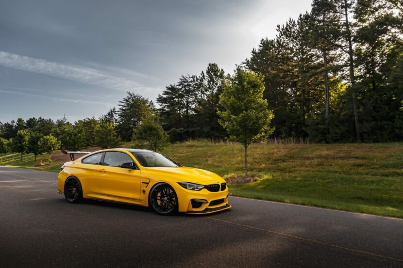 BMW M4 GTS yellow color 31 830x553