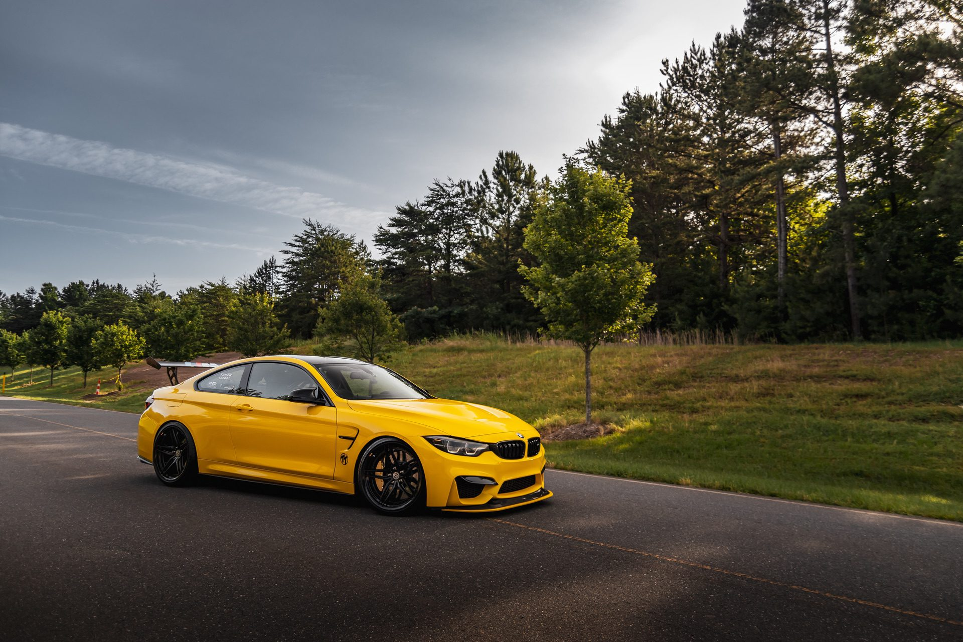BMW M4 GTS yellow color 31