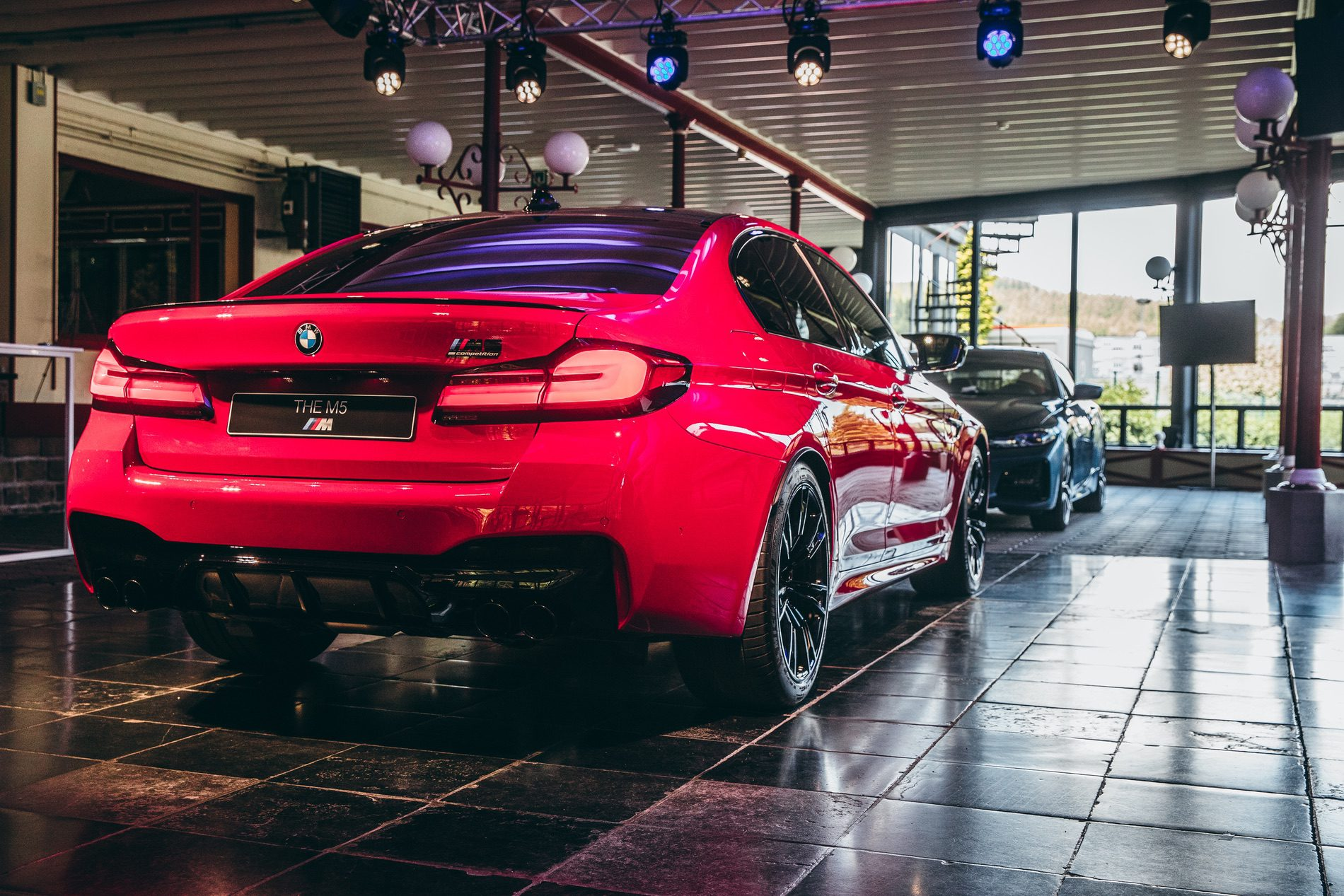 Real Life Photos 2021 Bmw M5 Facelift In Imola Red
