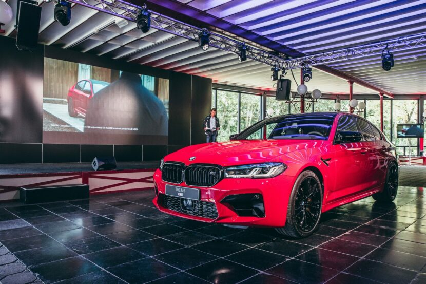 BMW M5 Facelift Imola Red 11 830x553