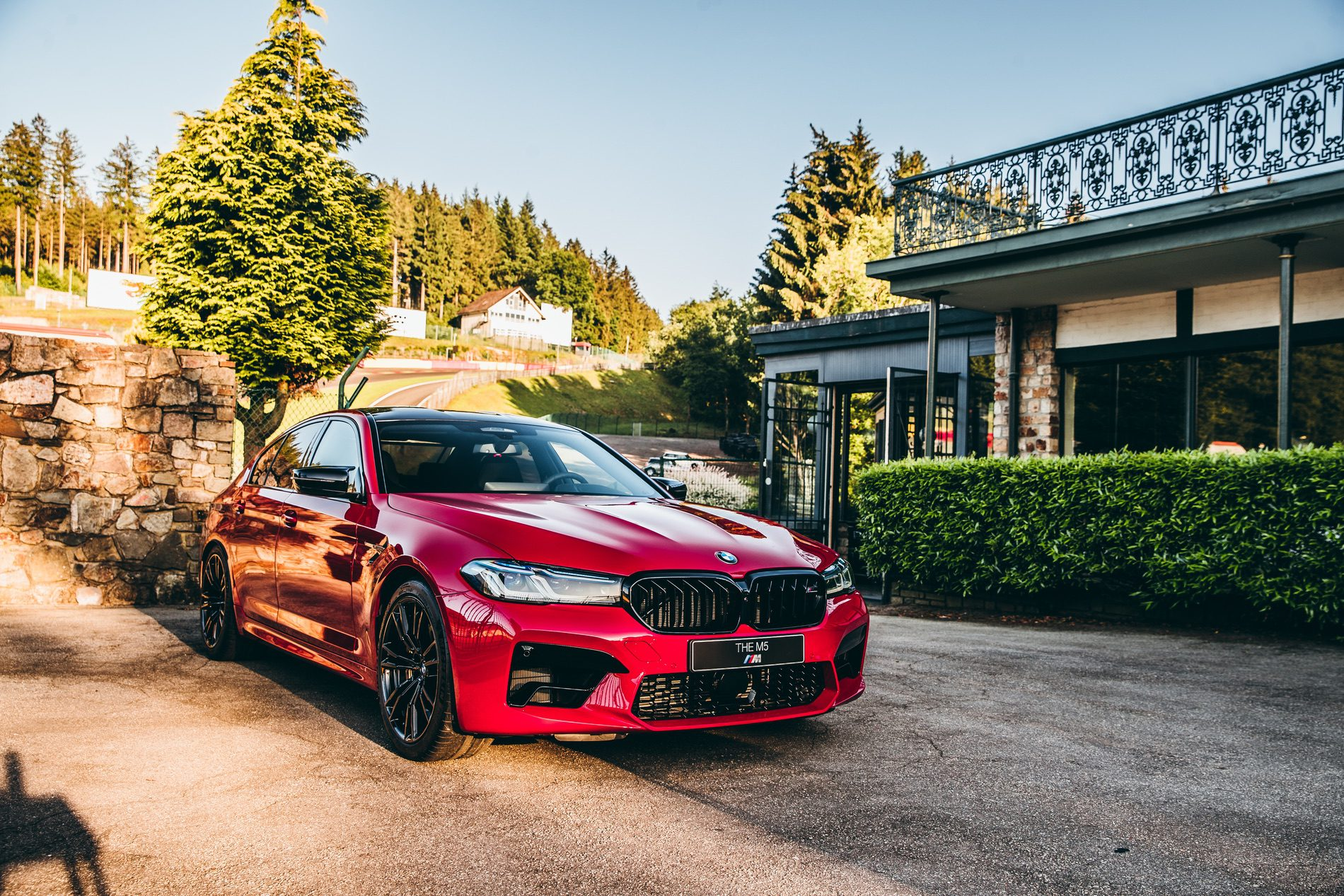 BMW M5 Facelift Imola Red 13