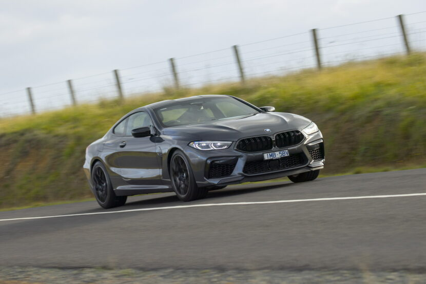BMW M8 Competition Coupe in Brands Hatch Grey 21 830x553