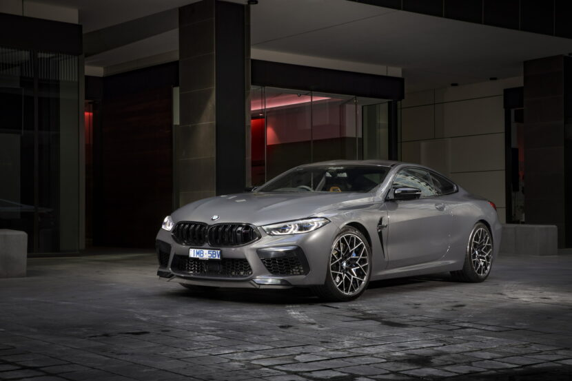 BMW M8 Competition Coupe in Brands Hatch Grey 3 830x553