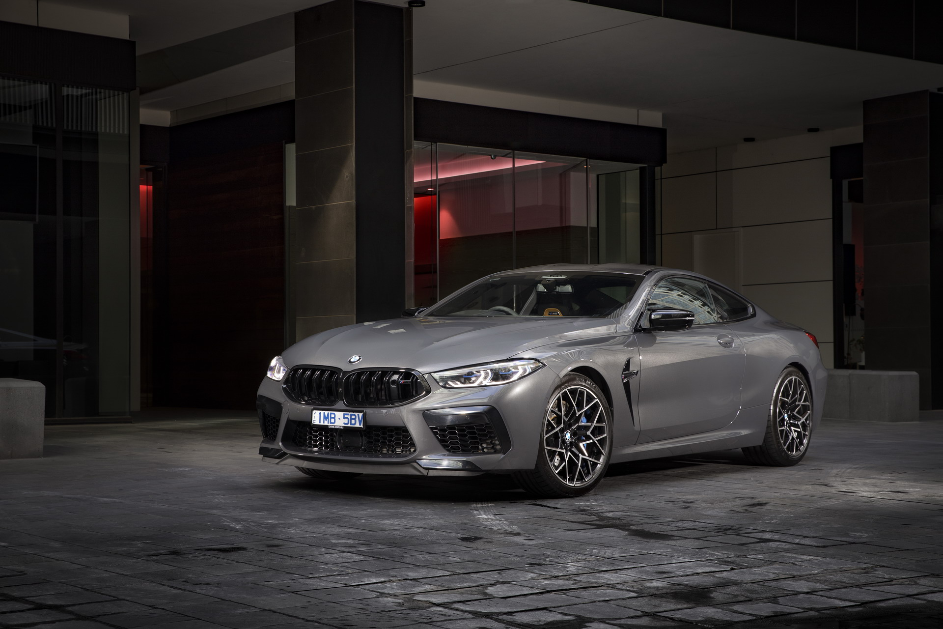BMW M8 Competition Coupe in Brands Hatch Grey 3