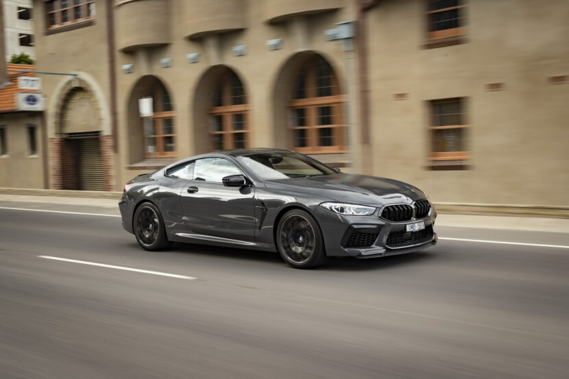 BMW M8 Competition Coupe in Brands Hatch Grey 30 830x553