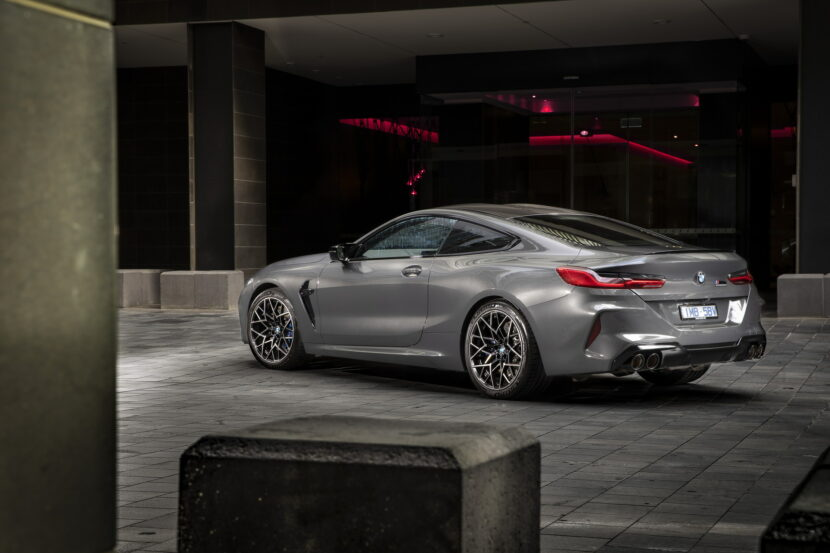 BMW M8 Competition Coupe in Brands Hatch Grey 4 830x553