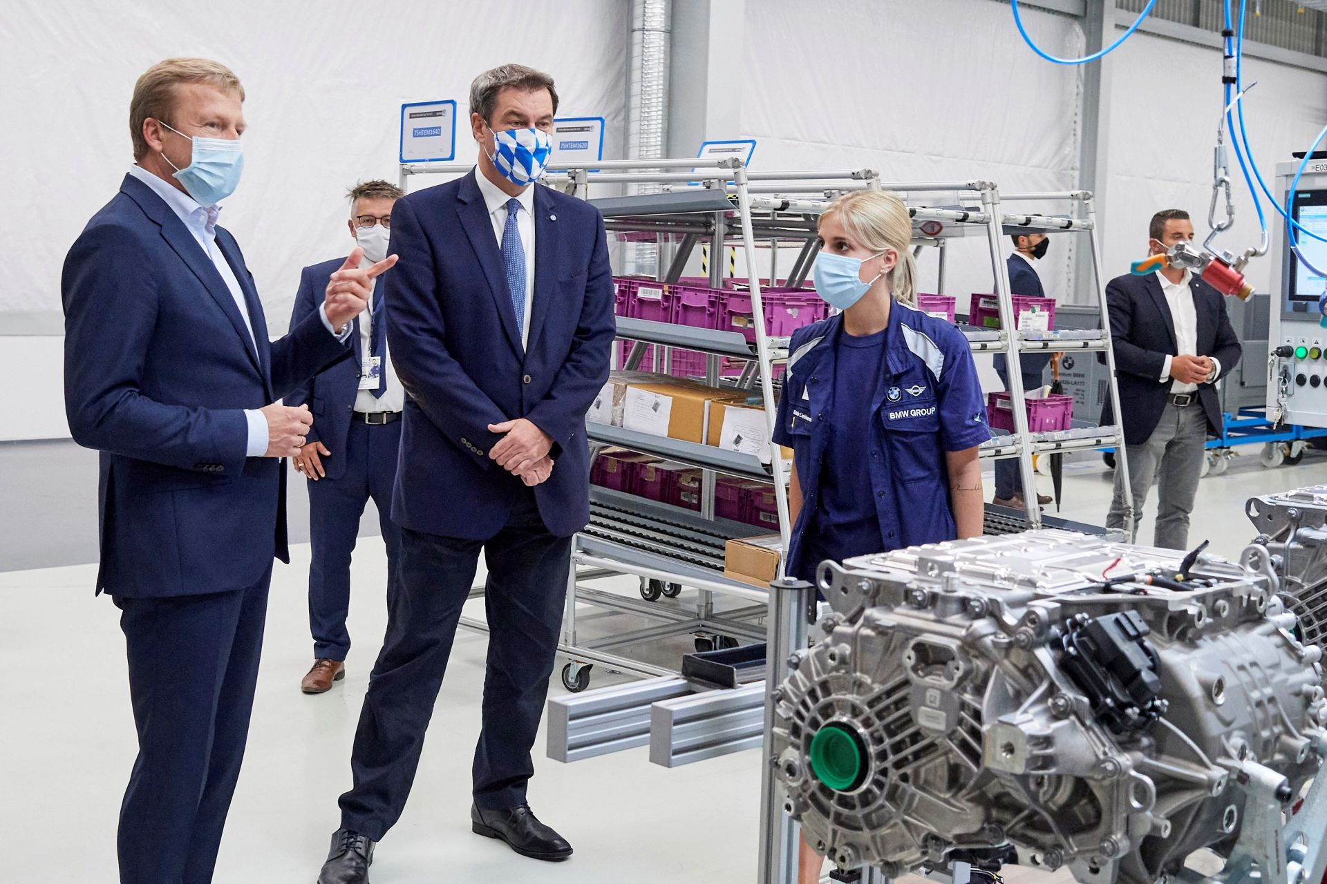 Competence Centre for E Drive Production in Dingolfing 21