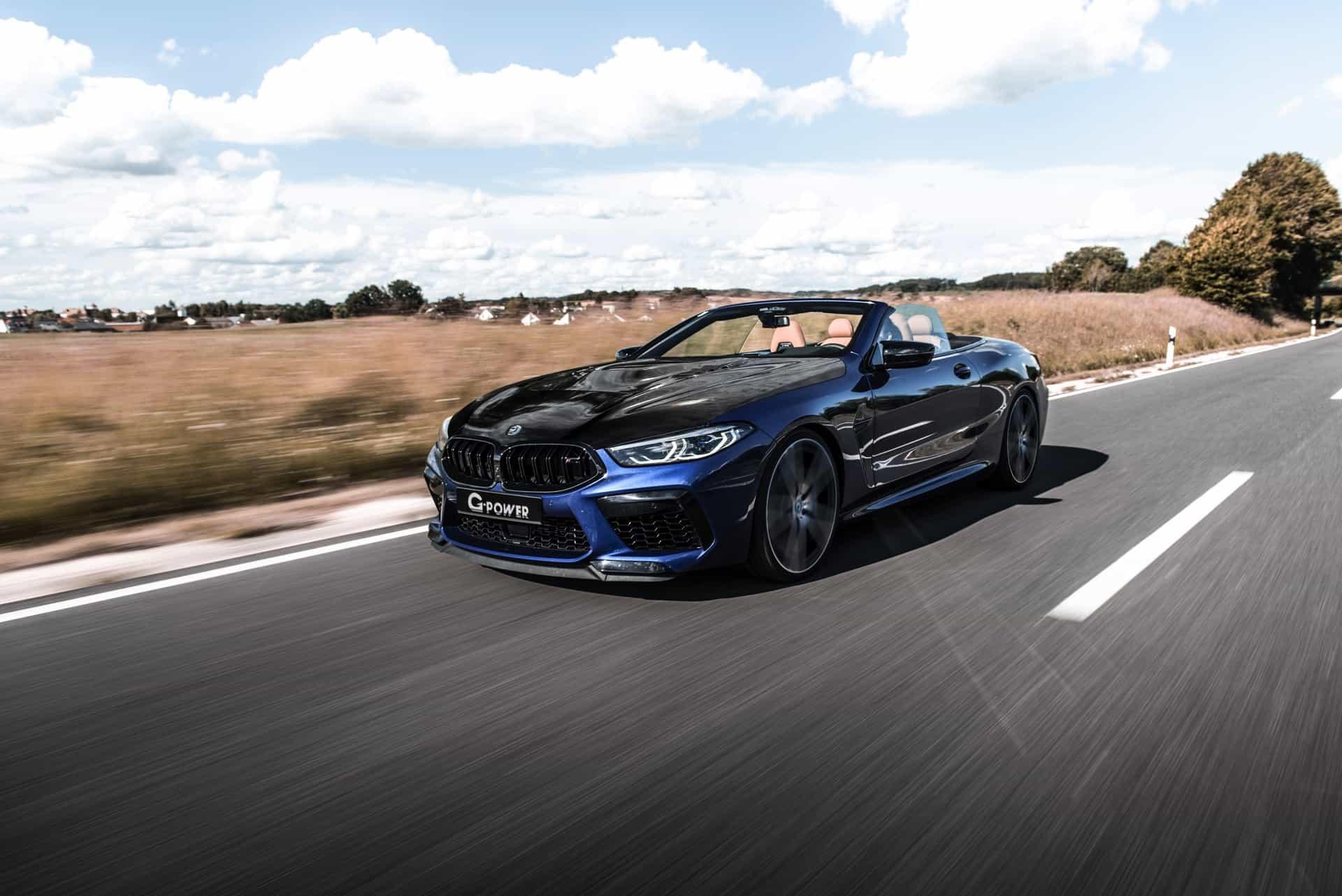 G Power BMW M8 Cabrio Tuning F91 05