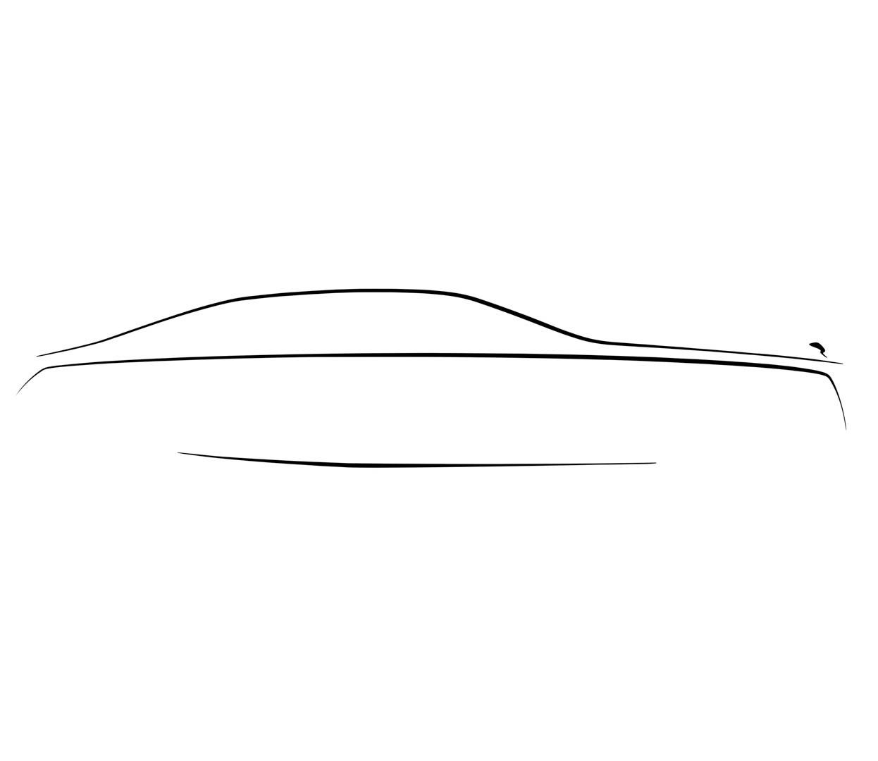 Rolls Royce Ghost Design Sketch 2