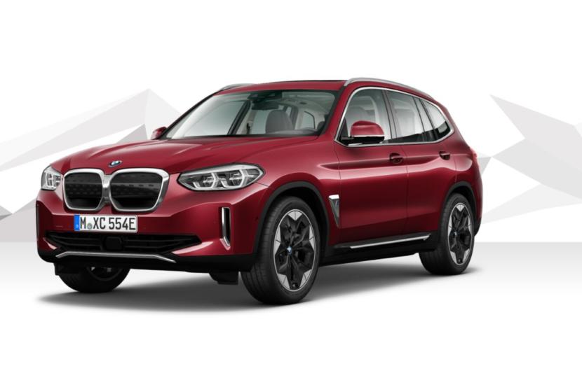 The New BMW iX3 Piemont Red metallic 2 830x553