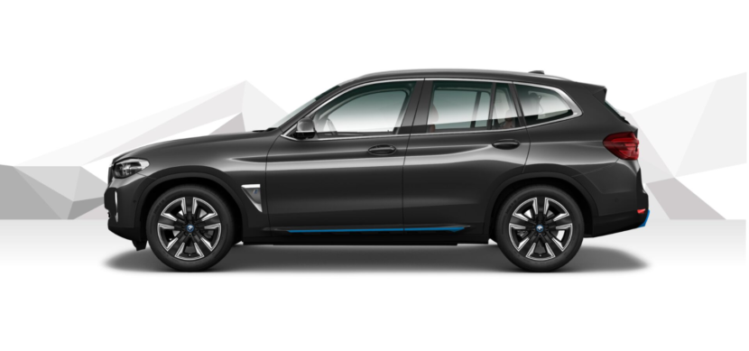 The New BMW iX3 Sophisto Grey metallic 3 830x389