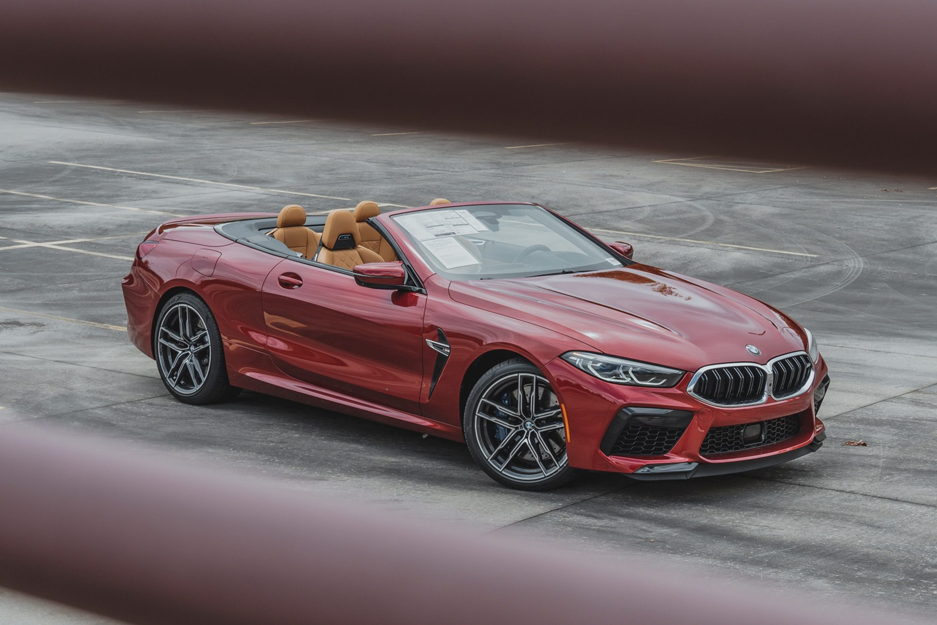 2020 Bmw M8 Convertible Looks Beautiful In The Motegi Red