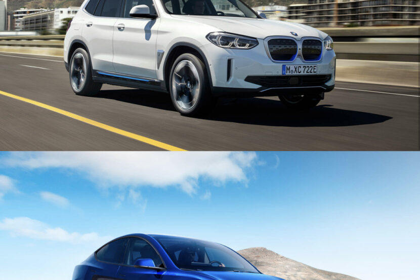 bmw ix3 tesla model y 830x553