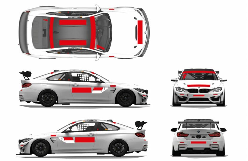 bmw m4 gt4 livery design template 830x538